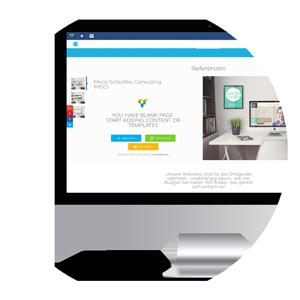 Sandcastle24 CMS System Wordpress Vorschau
