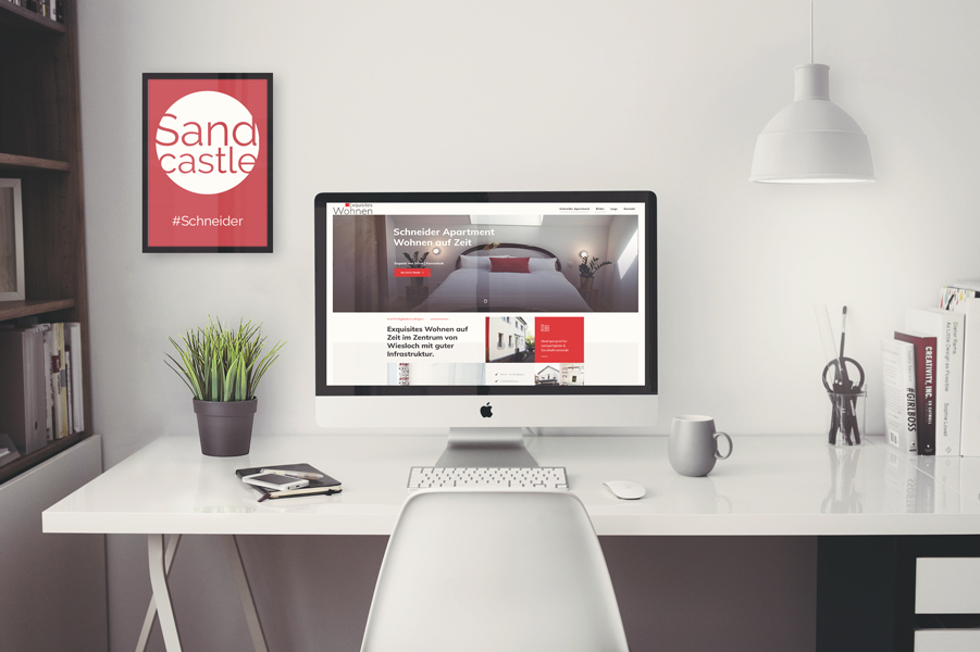 Sandcastle24 Schneider Apartment Referenz Wiesloch
