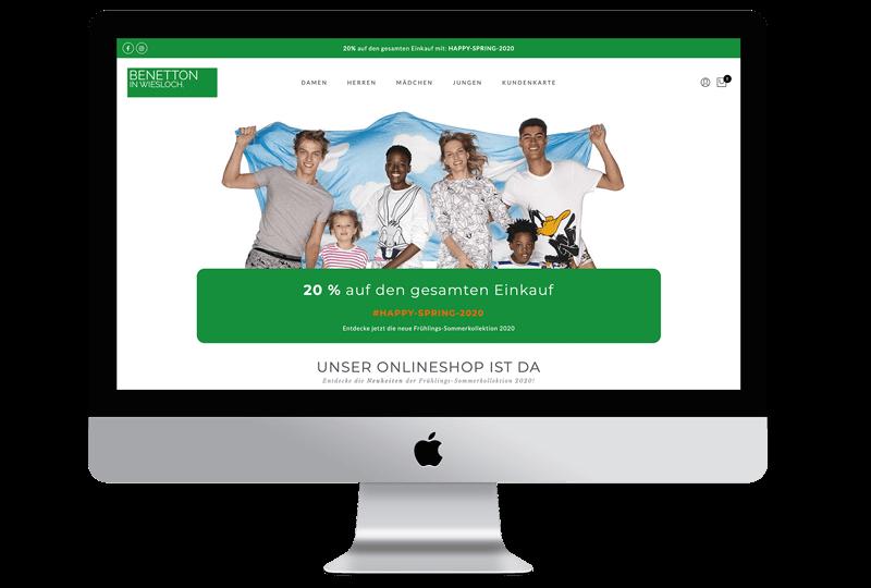 Benetton Wiesloch Webdesigner Wiesloch Sandcastle24