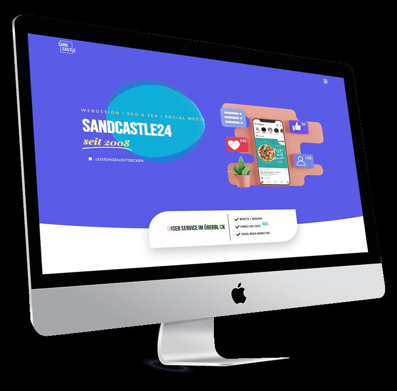 Webdesigner gesucht Heidelberg Sandcastle24 Heidelberg